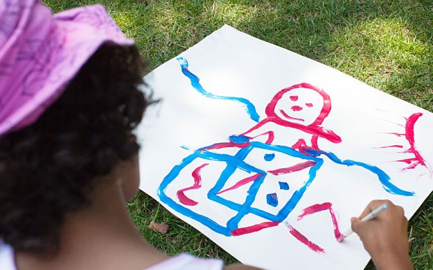 نقاشی کودکان معیاری از هوش نوجوانی آنهاست
