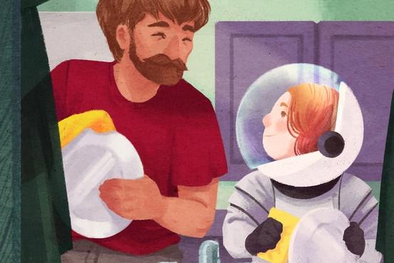 توصیه به پدران: در امور خانه مشارکت کنید تا موفق تر باشید