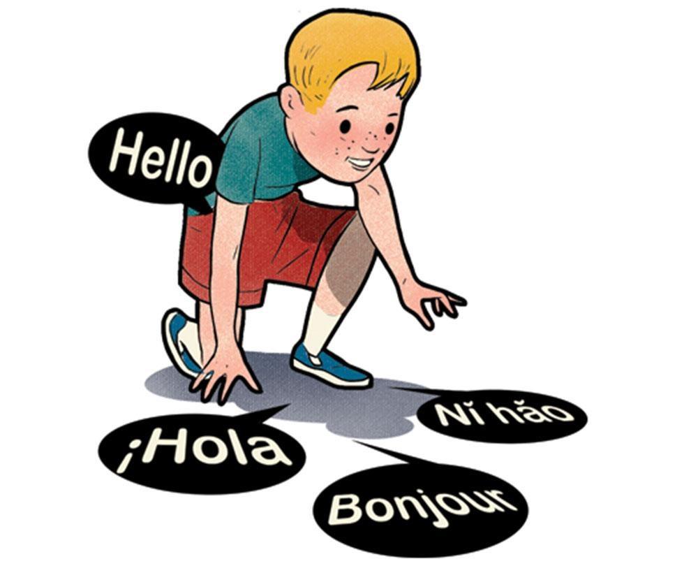 چرا بچهها  زبان دوم را راحتتر یاد میگیرند؟