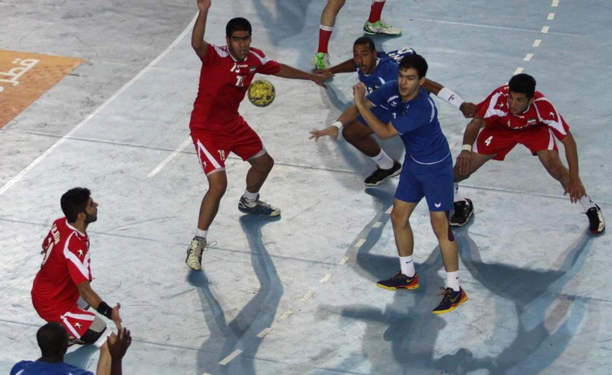 پیروزی تیم هندبال جوانان ایران مقابل کویت