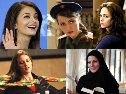 ماجرای حجاب آیشواریا رای در یک فیلم ایرانی / نگاهی به پوشش بازیگران خارجی در سینمای ایران