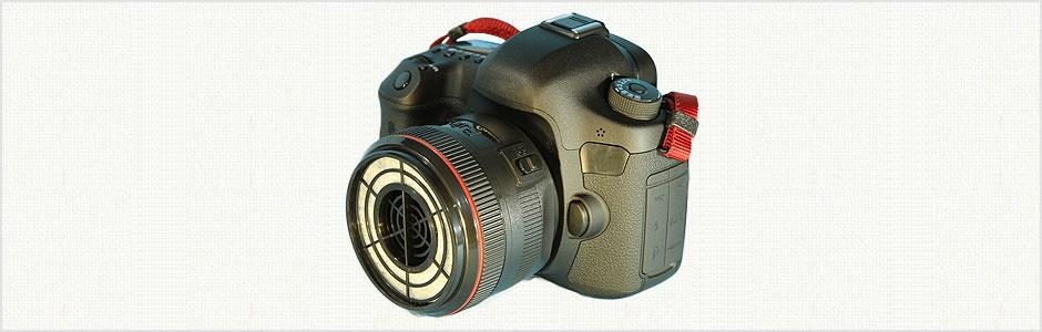 تاکنون جاروبرقی مخصوص لنز دوربین دیدهاید؟