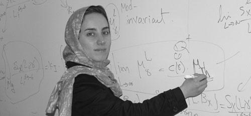 بانوی ریاضیدان ایرانی در یکقدمی معتبرترین جایزه ریاضی جهان