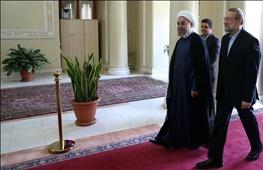 مذاکرات هسته ایران با 5 بعلاوه 1,علی لاریجانی,حسن روحانی