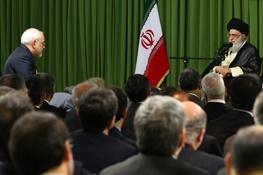 وزارت خارجه,آیتالله خامنهای رهبر معظم انقلاب,محمدجواد ظریف