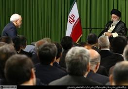 آیتالله خامنهای رهبر معظم انقلاب,محمدجواد ظریف,وزارت خارجه