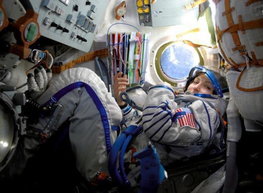 تصاویری دیدنی از دنیای فضانوردی