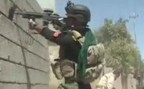تصاویری از پیشروی ارتش عراق به سمت مواضع داعش