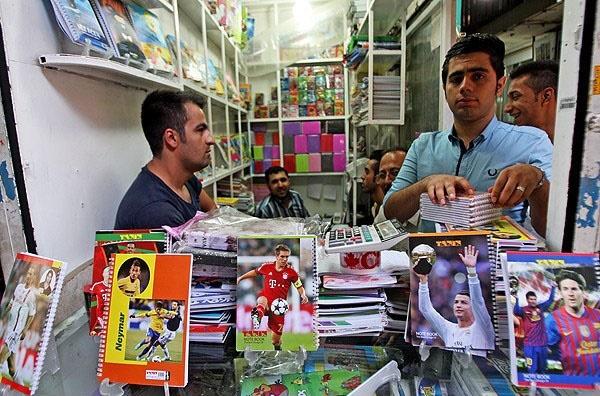 جای خالی قهرمانان ملی در بین لوازم التحریر