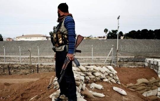 تصاویری از درگیری کُردهای سوریه با داعش