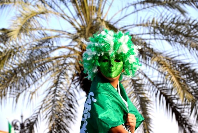 تصاویری از جشن روز ملی در عربستان سعودی