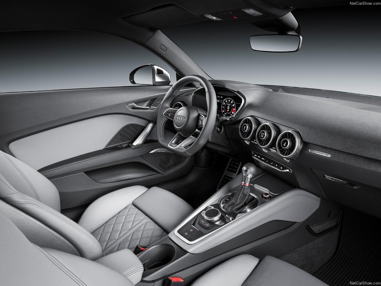 آئودی TTS، خودرویی برای تمام فصول