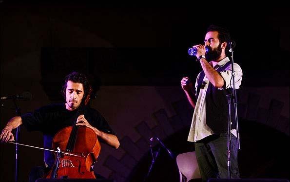 سومین شب از فستیوال موسیقی تهران با گروه پالت
