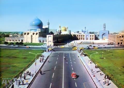 عکس حرم امام رضا در سال 1350