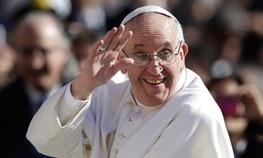 آلبانی,پاپ فرانسیس اول