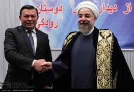 حسن روحانی,تاجیکستان