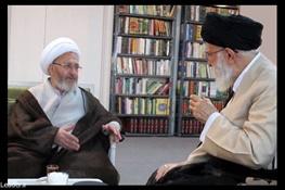 آیت الله جعفر سبحانی,آیتالله خامنهای رهبر معظم انقلاب