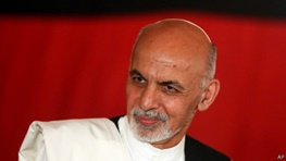 اشرف غنی احمدزی,افغانستان