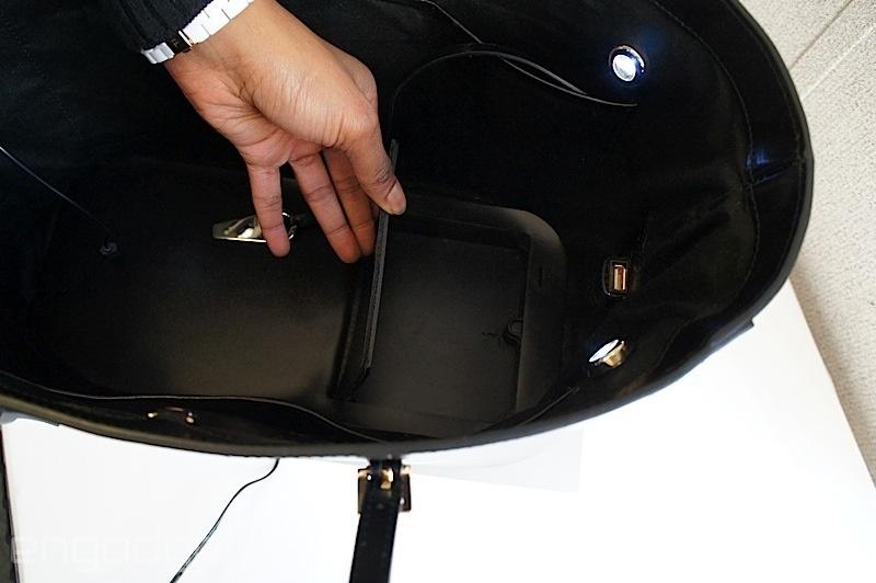 خانمهای عاشق فناوری، آیا علاقهمندید این کیف زنانه را داشته باشید؟