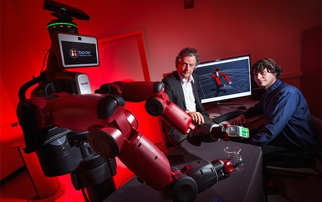 ساخت رباتهای دانشجو توسط دارپا
