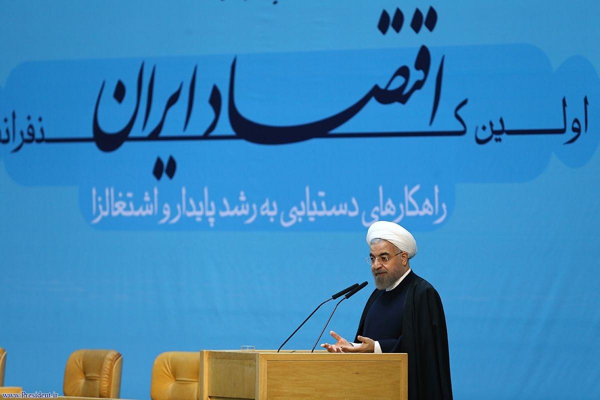 روحانی:خوب است برای برخی مسایل همه پرسی بگذاریم/ اقتصاد باید از انحصار نجات پیدا کند