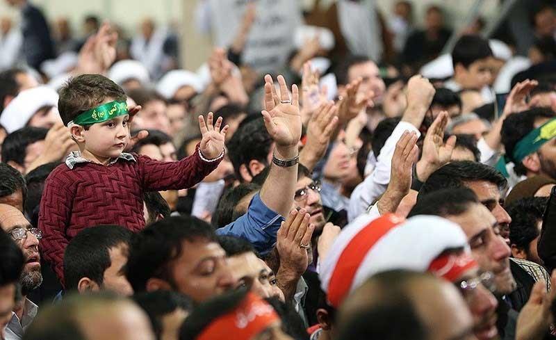 دیدار اقشار مختلف مردم قم با رهبر معظم انقلاب