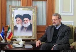 ایران و عراق,علی لاریجانی,عراق,امنیت عراق