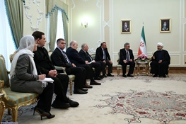 حسن روحانی,گرجستان