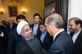 رجب طیب اردوغان,حسن روحانی,ایران و ترکیه