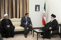 آیتالله خامنهای رهبر معظم انقلاب,ایران و ونزوئلا