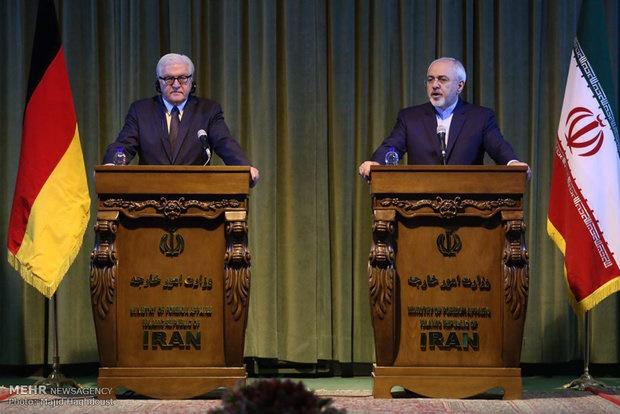 محمدجواد ظریف,ایران و آلمان,والتر اشتاین مایر