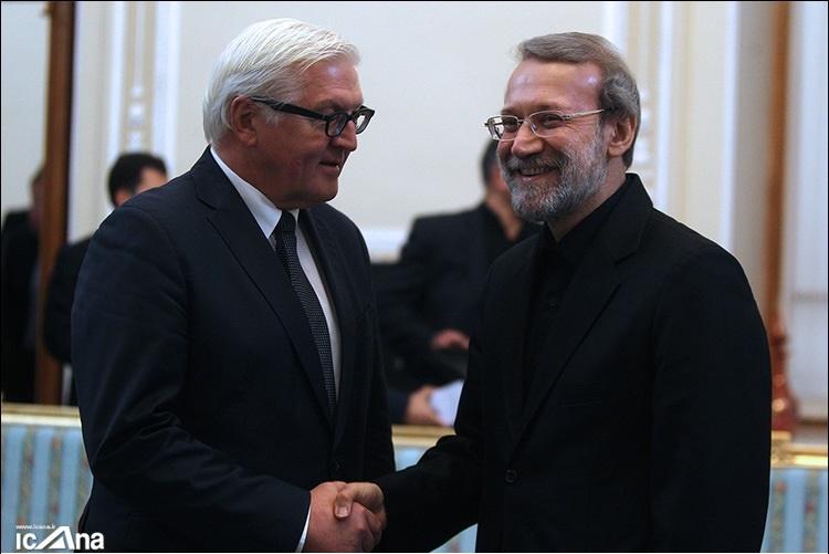 لاریجانی: آلمان تلاش خوبی برای حل مسئله هستهای ایران انجام داد