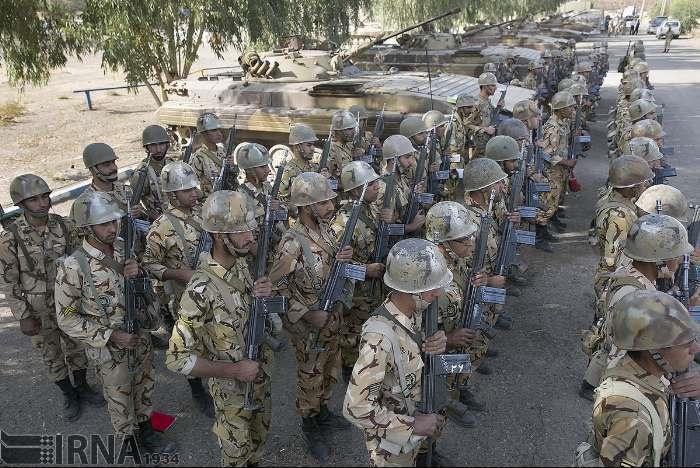 ارتش جمهوری اسلامی ایران,رزمایش