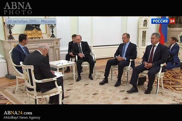 سوریه,روسیه,بشار اسد,ولادیمیر پوتین