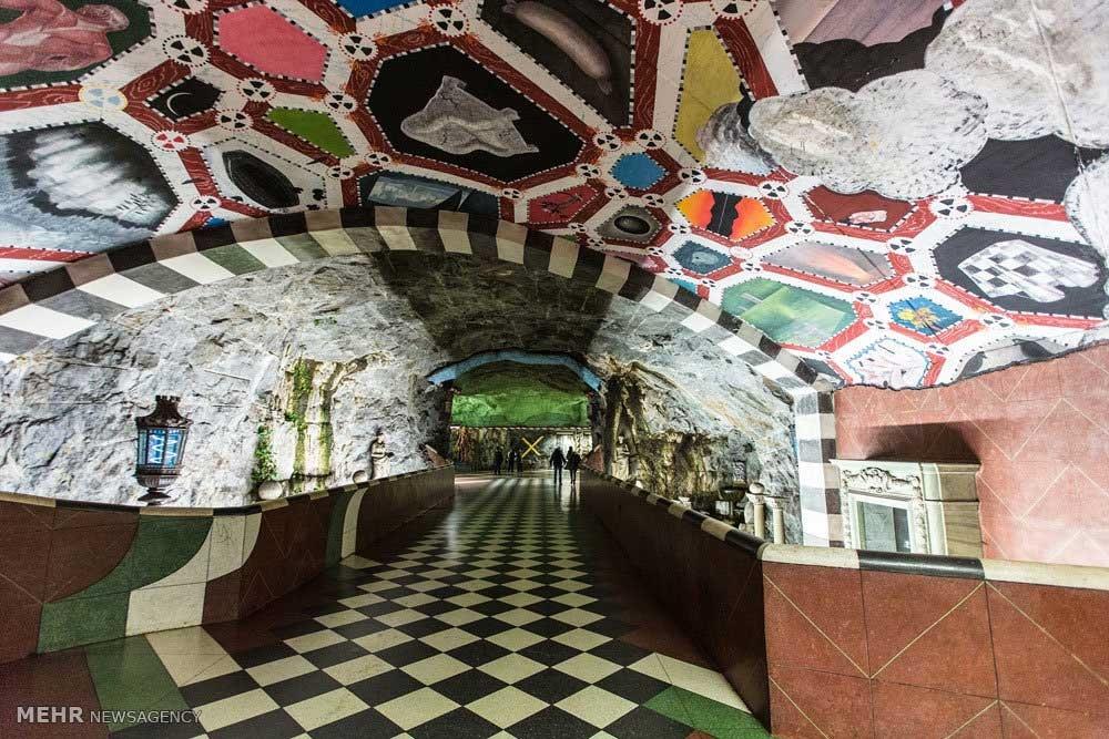 ایستگاه های متروی شهر استکهلم