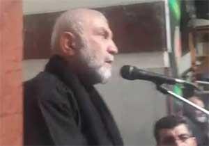 نوحهخوانی سردار شهید همدانی در ظهر عاشورا