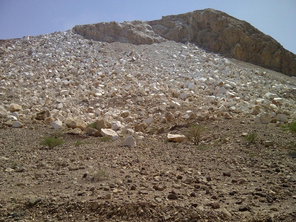 عکس هایی از معادن سنگ مرمر در کشور عمان را ببینید