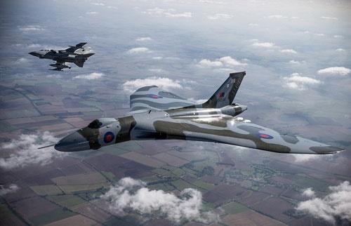 آخرین پرواز بمبافکن ولکان/ بمبافکن زمان جنگسرد انگلیس خانهنشین میشود