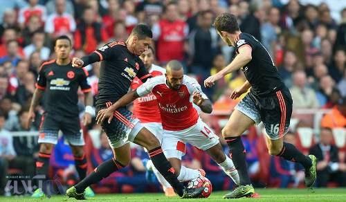 آرسنال 3 - منچستر یونایتد صفر/ تصاویری از آتش بازی توپچی های لندن مقابل شیاطین سرخ