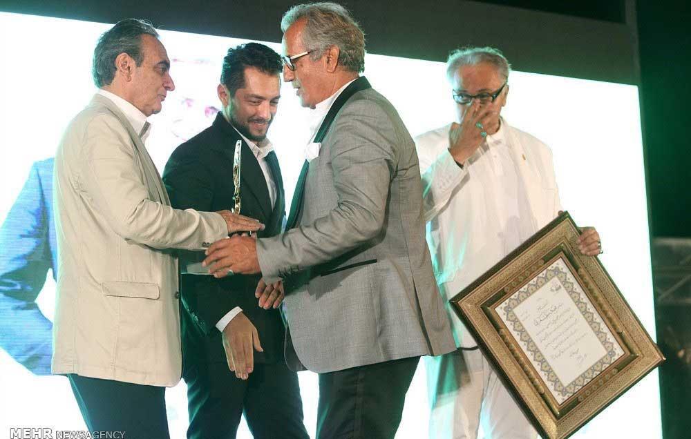 محمدرضا گلزار،هانیه توسلی،داودمیرباقری و ...در جشنواره بین المللی فیلم ویدئویی یاس