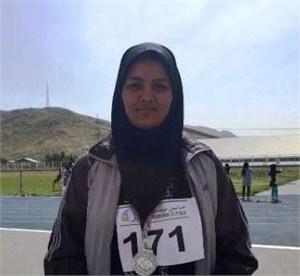 دختر نوجوان ارومیه ای قهرمان پرتاب چکش کشور شد