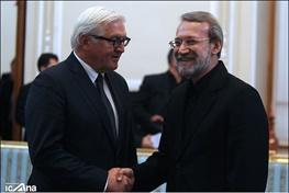 والتر اشتاین مایر,علی لاریجانی