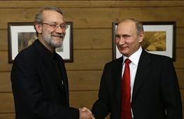 علی لاریجانی,ولادیمیر پوتین