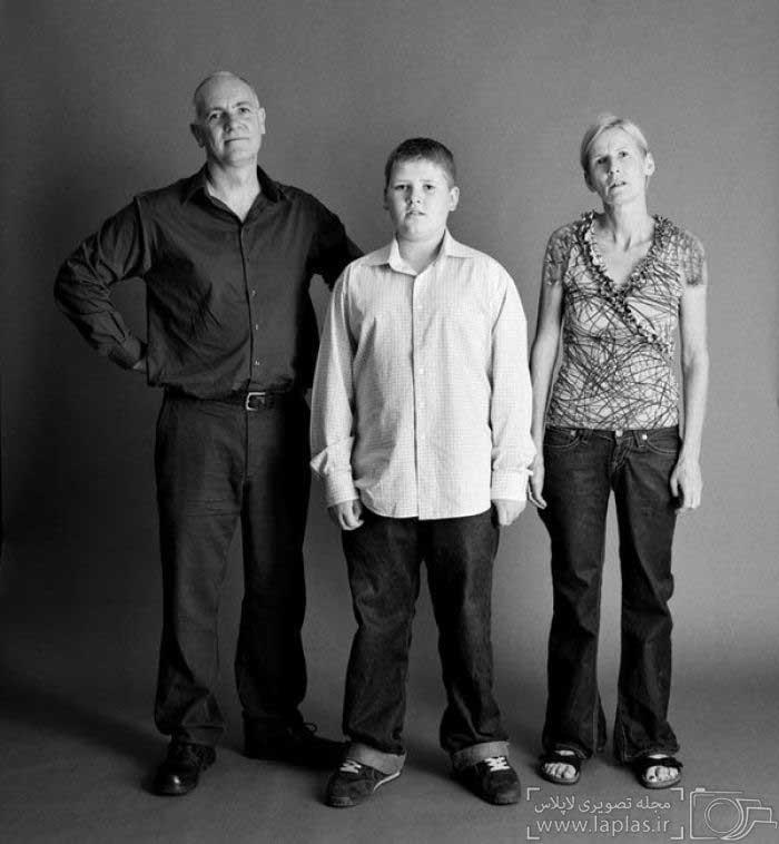 گذر عمر در یک خانواده به روایت تصاویر