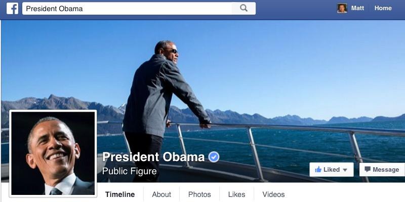 پست فیس بوکی و محیط زیستی رییس جمهور کشوری که خود بزرگترین تخریب کننده محیط زیست است