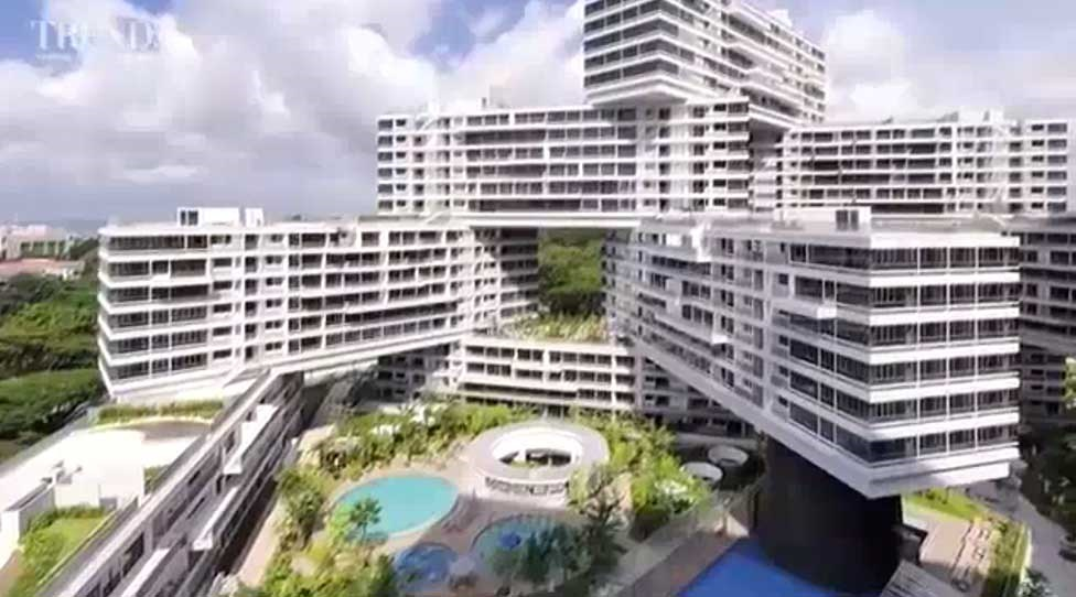 دهکده شش ضلعی عمودی در سنگاپور