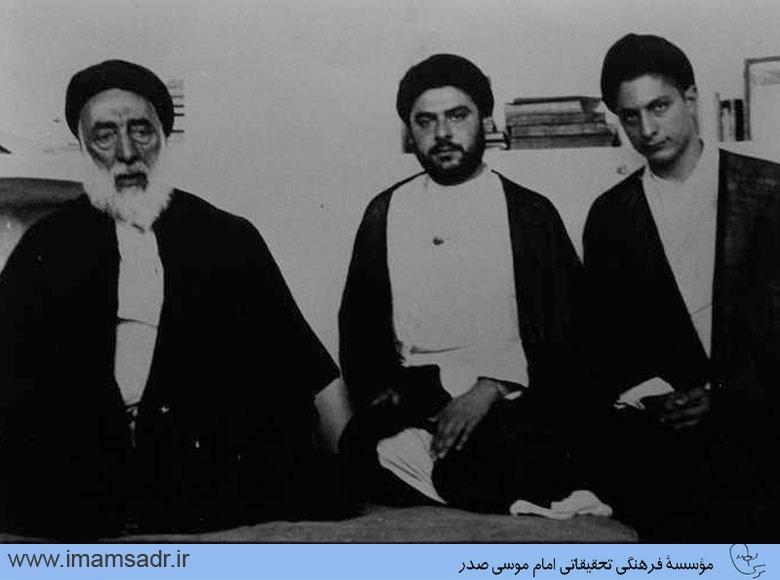 تصاویری از برادر امام موسی صدر در ایران، آلمان و لبنان