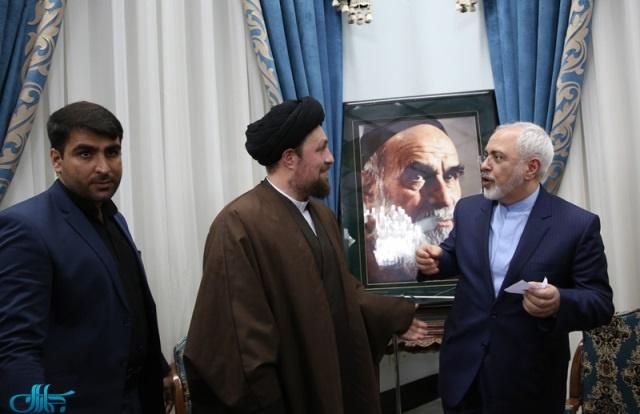 سید حسن خمینی,وزارت خارجه
