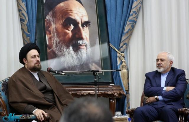 محمدجواد ظریف,سید حسن خمینی,وزارت خارجه