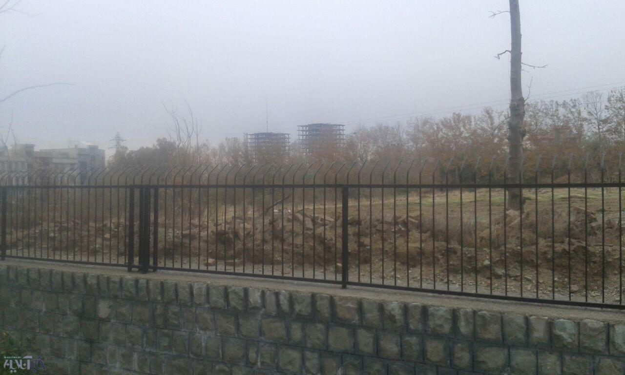 ساکنان یک مجتمع مسکونی در غرب تهران: باغ ۱۰ هزار متری اینجا را خشک کردند